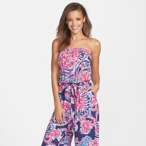 New With Tags - M Lilly Pulitzer Farrah Jumpsuit